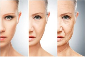 pharma industry anti aging three women from youngest to oldest